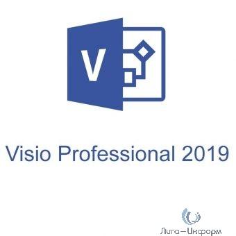 D87-07425 Visio Pro 2019 Win All Lng PKL Online DwnLd C2R NR