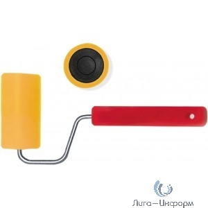 FIT IT Валик прижимной для обоев резиновый, большой диаметр 180 мм  [02984]