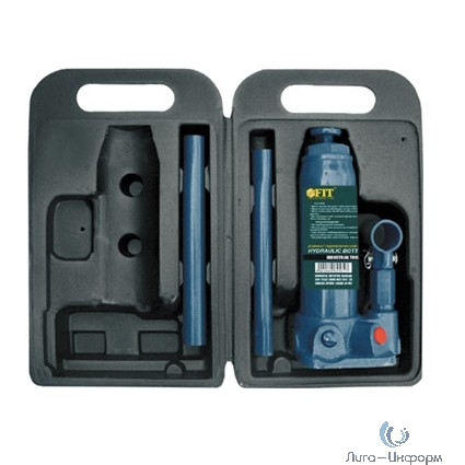 FIT IT Домкрат гидравлический бутылочный в чемоданчике 5 т [64565]