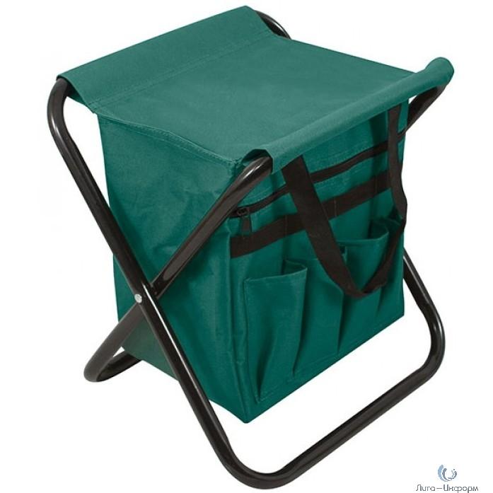 FIT IT Табурет складной с сумкой 300х300х400 мм [78332]