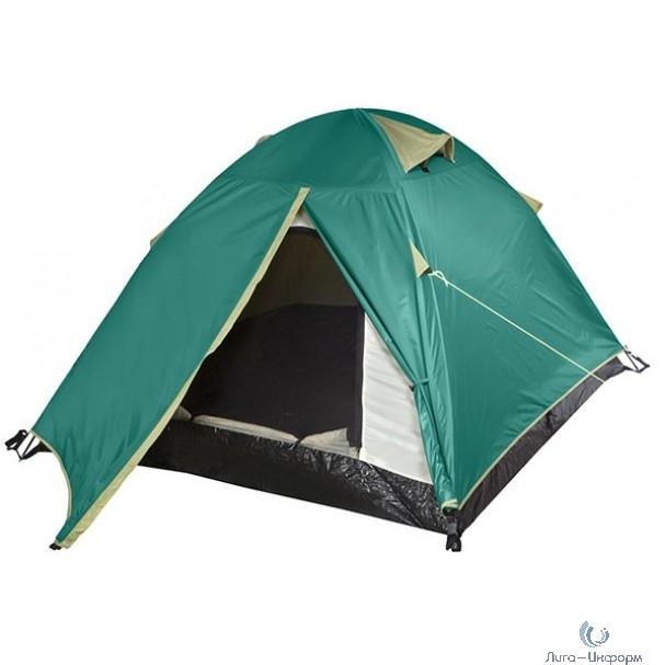 FIT IT Палатка туристическая 2-х местная с противомоскитной сеткой 1400х2700х1100 мм [78371]