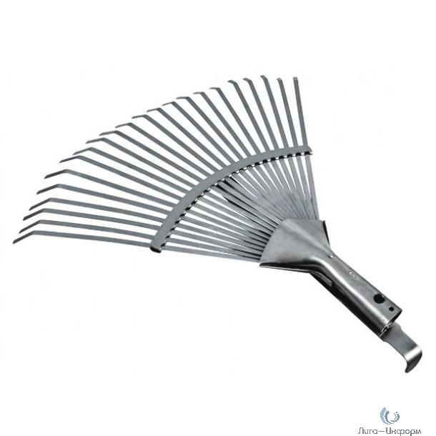 FIT IT Грабли веерные регулируемые пластинчатые, 300-440 мм, 22 зуба [77005]