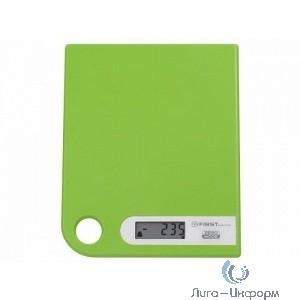 FIRST FA-6401-1-GN Весы кухонные, электронные, пластик, 5 кг, зелёный