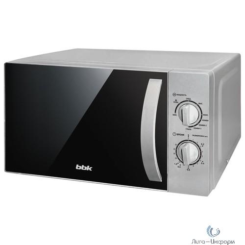 BBK 20MWG-740M/S Микроволновая печь, 20л. 700Вт серебристый