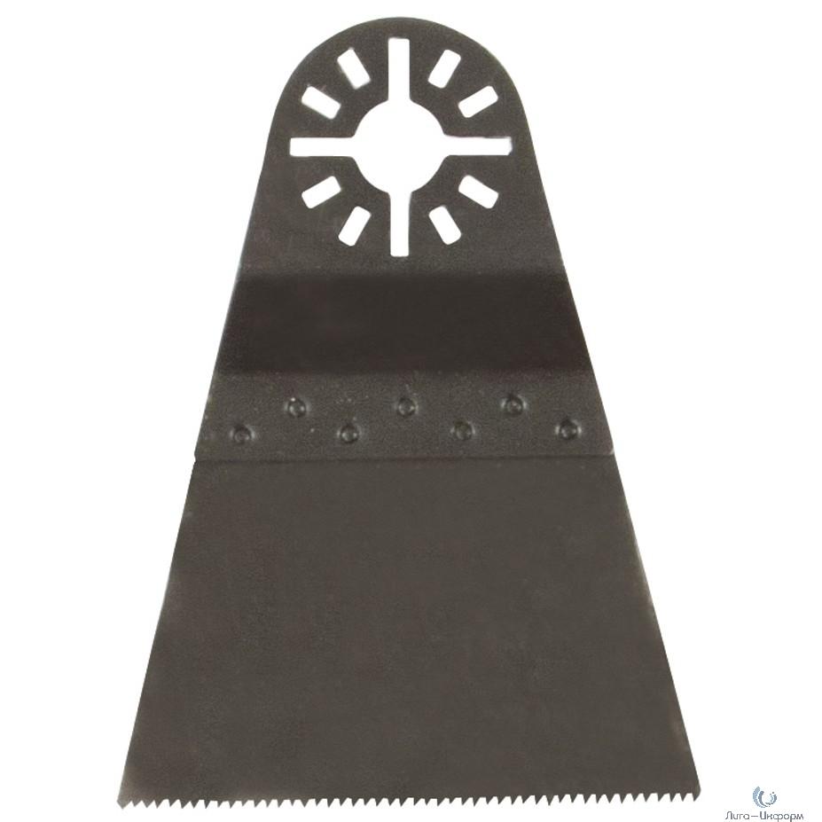 FIT HQ Полотно пильное шлифованное ступенчатое, CrV сталь, 68 мм х 0,6 мм [37914]