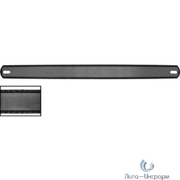 FIT DIY Полотна ножовочные по металлу, каленый зуб, широкие двухсторонние  300х25 мм, 36 шт. [40160]