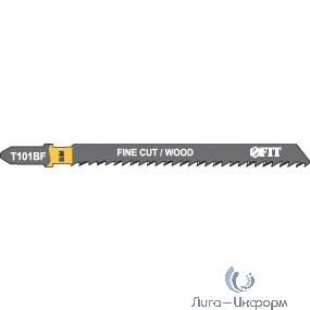 FIT HQ Полотна по дереву, Bimetal, шлифованные под свободным углом зубья, 100/74/2,5 мм (T101BF), 2 шт. [40955]