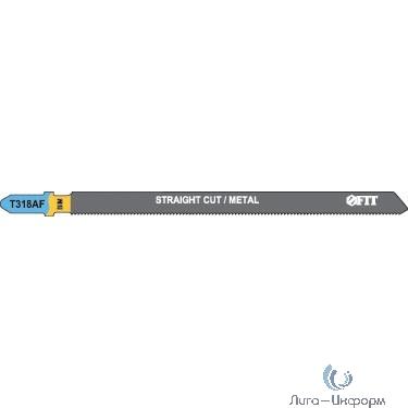 FIT HQ Полотна по металлу, Bimetal, фрезерованные, волнистые зубья, 132/106/1,2 мм (T318AF), 2 шт. [40972]