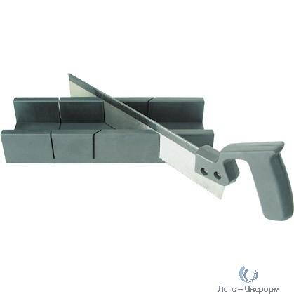 FIT DIY Стусло с пилой пластиковое 300 мм х 65 мм (прямоугольное) [41231]
