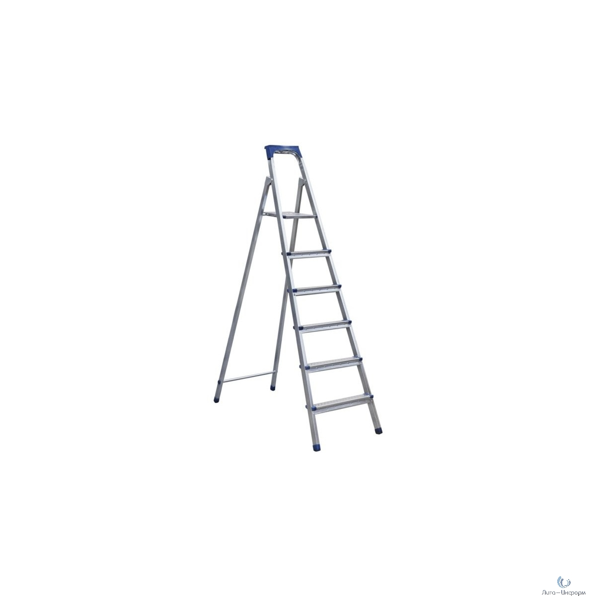 FIT КУРС РОС Лестница-стремянка стальная, 6 ступеней, вес 6,4 кг [65328]