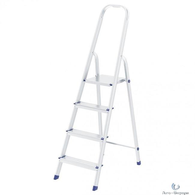 FIT РОС Лестница-стремянка алюминиевая, 4 ступени, вес 3,0 кг [65342]