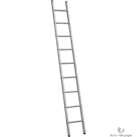 FIT РОС Лестница приставная алюминиевая, 9 ступеней, H=257 см, вес 3,0 кг [65414]