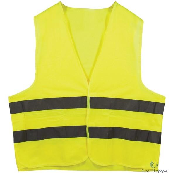 CHINA Жилет сигнальный желтый, размер XL [12120]