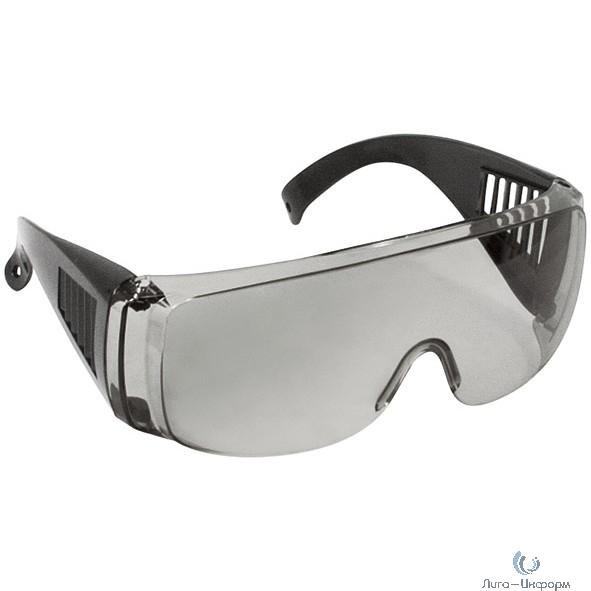 FIT РОС Очки защитные с дужками дымчатые [12218]