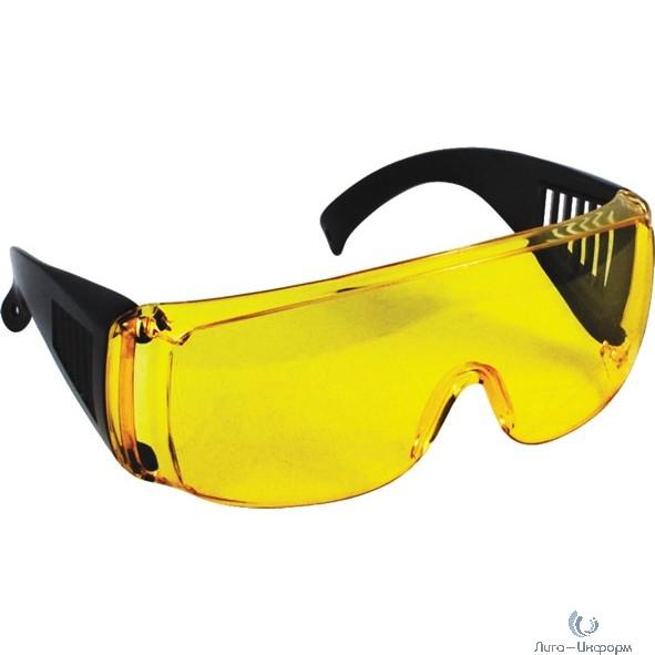 FIT РОС Очки защитные с дужками желтые  [12220]