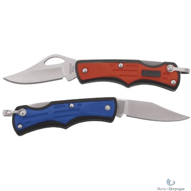 """FIT IT Нож складной """"Ястреб"""", 170 мм, лезвие 58 мм, нерж.сталь, пластик.ручка [10551]"""