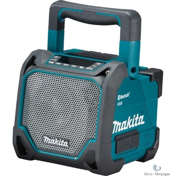 Makita DMR202 Аудиопроигрыватель ак,{10.8-18В,Li-ion,2.8кг,порт USB,Bluetooth,вход AUX,б\пров,адаптер,б\ак,з\у}