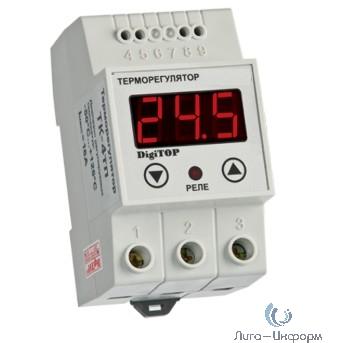 DigiTOP TK-4т Терморегулятор одноканальный на DIN-рейку, 16А, -50...+125С