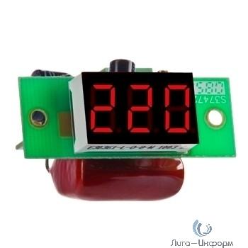 DigiTOP Вм-14(220в) Вольтметр бескорпусной переменного тока, однофазный, 100...400В, индикатор 14х25 мм