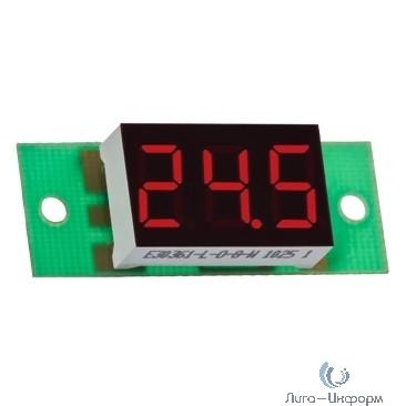 DigiTOP Вм-14/1 Вольтметр бескорпусной постоянного тока, 0...100В, индикатор 14х25 мм