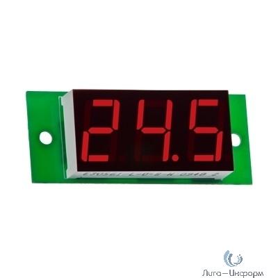 DigiTOP Вм-19/1 Вольтметр бескорпусной постоянного тока, 0...100В, индикатор 19х40 мм