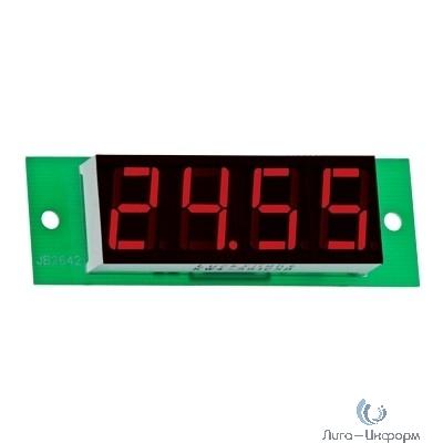 DigiTOP Вм-19/2 Вольтметр бескорпусной постоянного тока, 0...26В, индикатор 19х50 мм