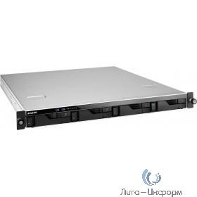 Asustor AS6204RD Сетевое хранилище 4-Bay, Intel Celeron Quad-Core, 4GB SO-DIMM DDR3L, GbE x 4, USB 3.0 x 4, WoL, System Sleep Mode, AES-NI hardware encryption, with lockable tray
