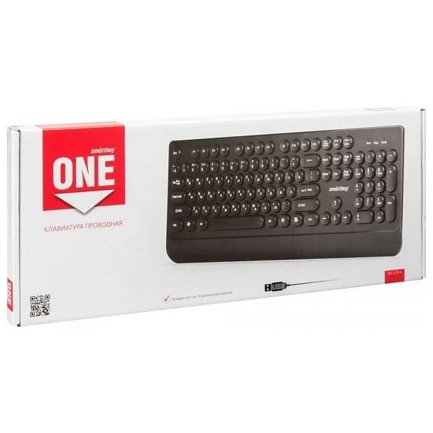 Клавиатура проводная Smartbuy ONE 228 USB Black [SBK-228-K]