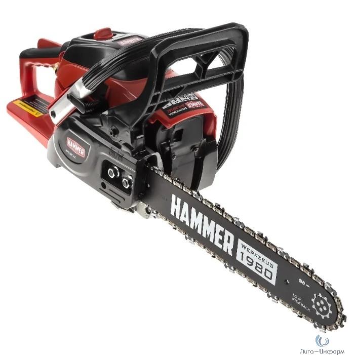 "Hammer BPL3814C Бензопила [569549] { 1,47кВт/2лс 38см3 шина 14"" цепь 3/8""-1,3мм-52 5кг }"