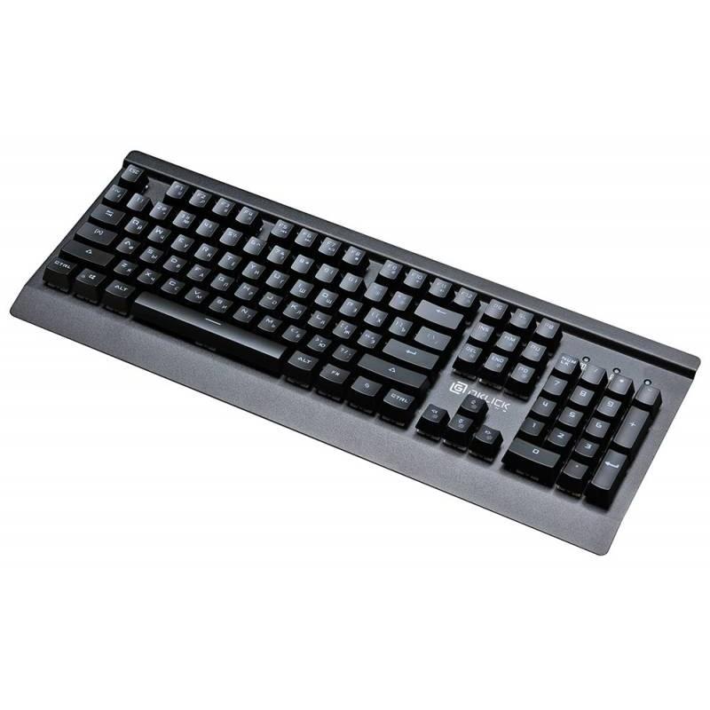 Клавиатура игровая Oklick 920G IRON EDGE механическая черный USB Gamer LED [337182]