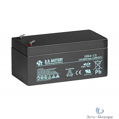 B.B. Battery Аккумулятор HR 4-12 (12V 4Ah)