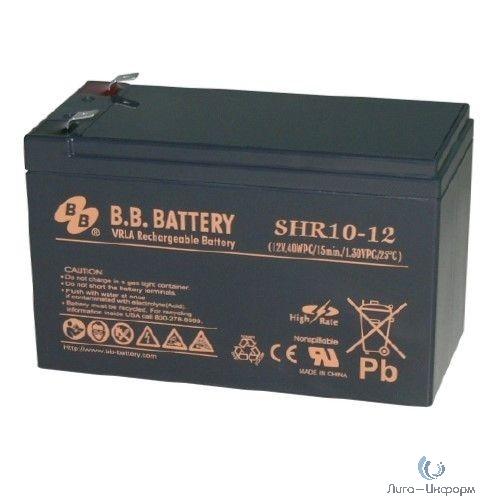B.B. Battery Аккумулятор SHR 10-12