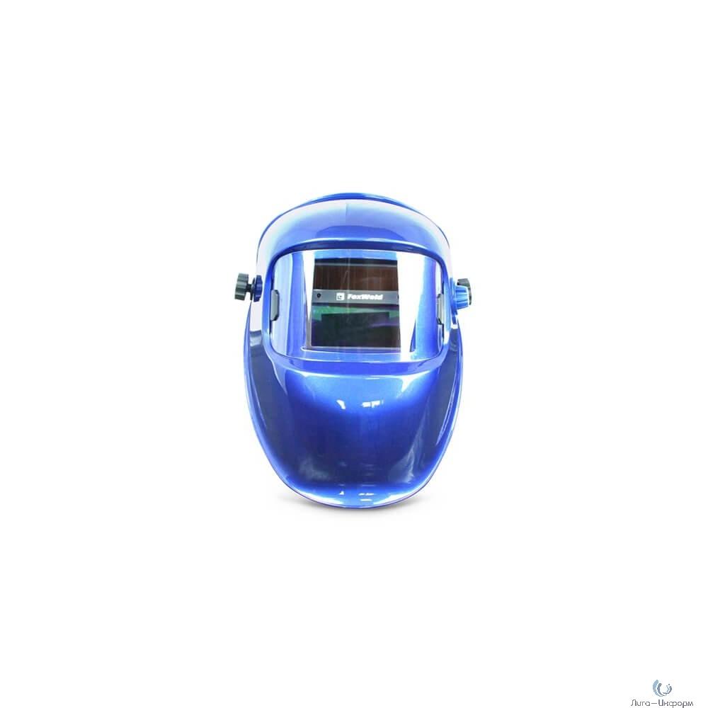 "FOXWELD Маска КОРУНД-5 ""синяя"" (ф-р 2100V без коробки) [5513]"