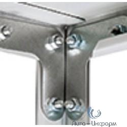 Крепеж стойки MS Strong (Г-образные уголки 4 шт.+ подпятник пласт.1 шт.) [S24199220000]