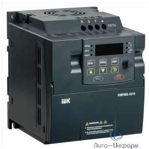 Iek CNT-A310D33V0075TEZ-1 Преобразователь частоты CONTROL-A310 380В, 3Ф 0,75 kW 2,3A