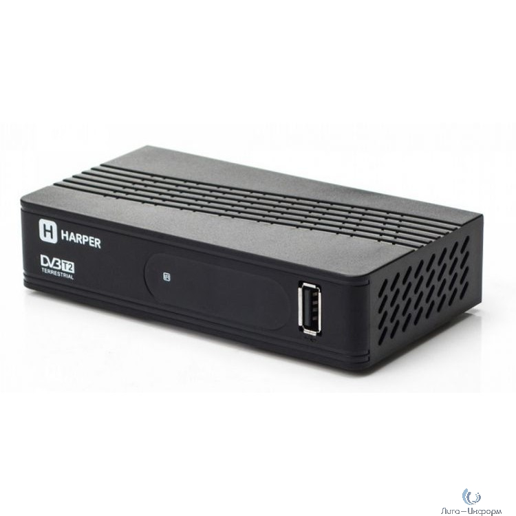 HARPER HDT2-1202 {YOUTUBE, DOLBY DIGITAL, Процессор: Sunplus 1509C; Разрешение видео: 480i, 480p, 576i, 576p, 720p, 1080i, Full HD 1080p; Поддерживаемые форматы мультимедиа: AVI, MKV, VOB}