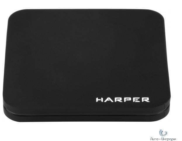 HARPER ABX-210 черный {Amlogic S905W Quad-Core Cortex-A53 2.0GHz; Оперативная память: 2GB DDR3; Постоянная память: 8GB eMMC}