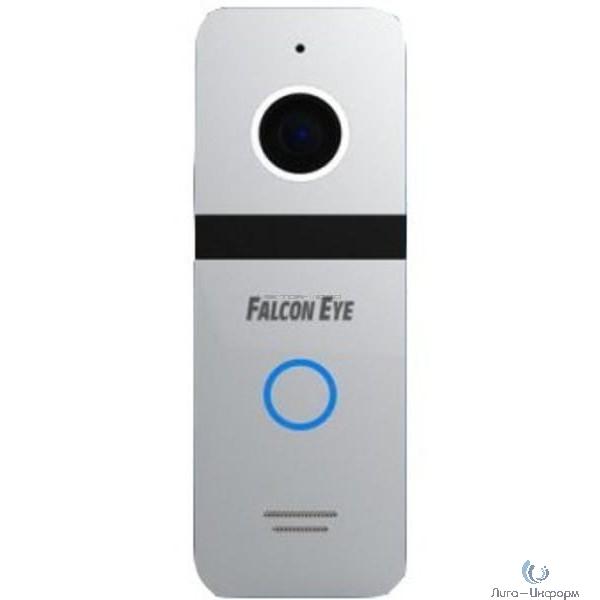 Falcon Eye FE-321 (Silver) Вызывная видеопанель: разрешение 800 ТВл; угол обзора 110гр.; ИК подветка;  питание DC 12В;  рабочий диапазон t -30…+60; комплектуется  угловым кронштейном