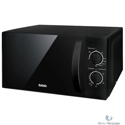 BBK 20MWG739MB Микроволновая печь, 700 Вт, черный