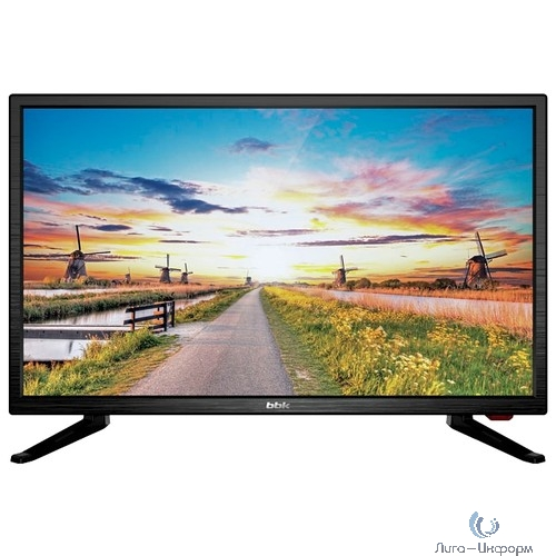 "BBK 20"" 20LEM-1027/T2C черный {HD READY/50Hz/DVB-T2/DVB-C/USB (RUS)}"