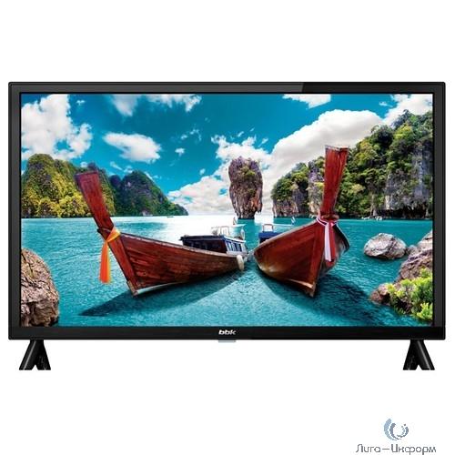 """BBK 24"""" 24LEM-1058/T2C черный {HD READY/50Hz/DVB-T/DVB-T2/DVB-C/USB (RUS)}"""
