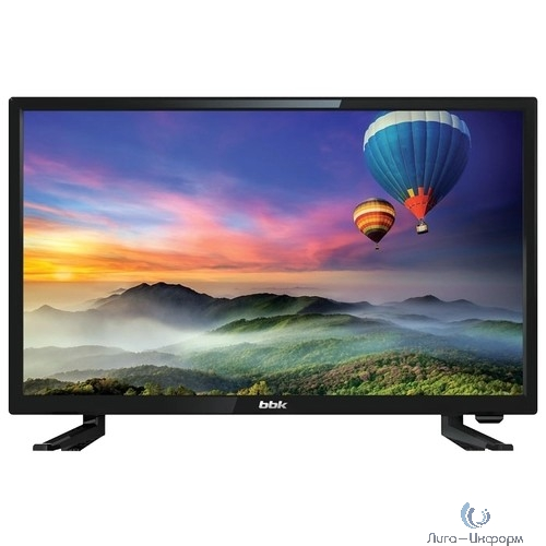 """BBK 24"""" 24LEM-1056/T2C черный {HD READY/50Hz/DVB-T/DVB-T2/DVB-C/USB (RUS)}"""