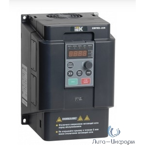 Iek CNT-L620D33V055-075TE Преобразователь частоты CONTROL-L620 380В, 3Ф 5,5-7,5 kW