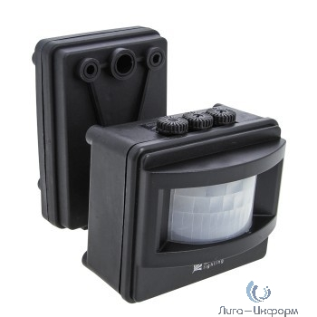 EKF dd-ms-01-b ИК датчик движения MS-01 черный на прожектор 1200Вт 120гр. до 12м IP44 EKF PROxima