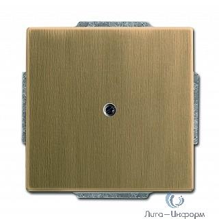 ABB 1710-0-4080 Заглушка с суппортом, серия Династия, Латунь античная