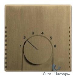 ABB 1710-0-4087 Плата центральная (накладка) для механизма терморегулятора (термостата) 1094 U, 1097 U, серия Династия, Латунь античная