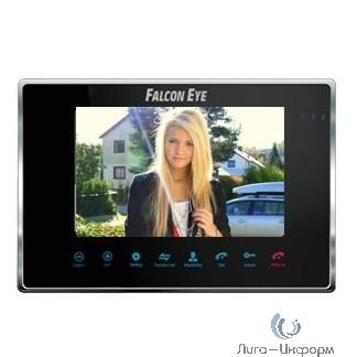Falcon Eye FE-70M BLACK Видеодомофон цветной, сенсорные кнопки, 7 дюймов Возможности подключения: 2 вызывные панели, 2 камеры, до 4 мониторов в систем
