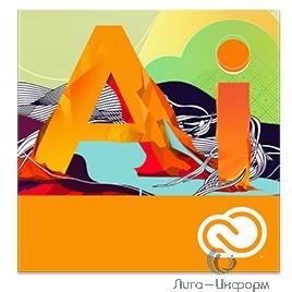 65297598BA01A12 Illustrator CC for teams ALL Multiple Platforms Multi European Languages Team Licensing Subscription Renewal Level 1 1 - 9