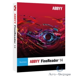"""AF14-2S1W01-102 ABBYY FineReader 14 Business Full (Per Seat) АО """"Уголь-Транс"""""""