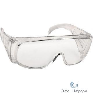 DEXX Очки защитные, поликарбонатная монолинза с боковой вентиляцией, прозрачные [11050/11050_z01]